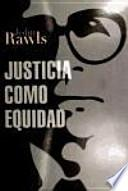 libro Justicia Como Equidad