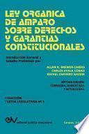 libro Ley Organica De Amparo Sobre Derechos Y Garantias Constitucionales