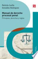 libro Manual De Derecho Procesal Penal