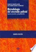 libro Metodología Del Atestado Policial