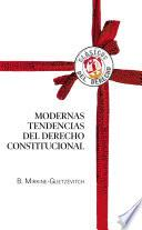 libro Modernas Tendencias Del Derecho Constitucional