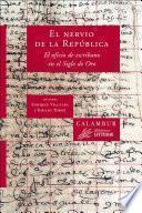 libro El Nervio De La República. El Oficio De Escribano En El Siglo De Oro