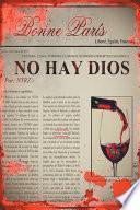 libro No Hay Dios