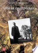 libro Obras Completas, I