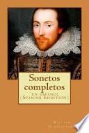 libro Sonetos Completos: En Espanol