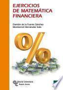 libro Ejercicios De Matemática Financiera