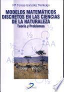 libro Modelos Matemáticos Discretos En Las Ciencias De La Naturaleza