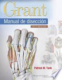 libro Grant. Manual De Diseccion / Grant. Manual Dissection