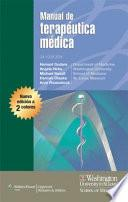 libro Manual Washington De Terapeutica Medica