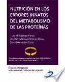 libro Nutrición En Los Errores Innatos Del Metabolismo De Las Proteínas