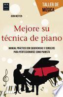 libro Mejore Su Tecnica De Piano