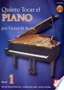 libro Quiero Tocar El Piano Book/cd Set