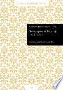 libro Sonatas Para Violín Y Bajo Vol. 2