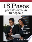 libro 18 Pasos Para Desarrollar Tu Negocio
