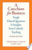 libro A Catechism For Business