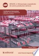 libro Almacenaje Y Expedición De Carne Y Productos Cárnicos. Inai0108