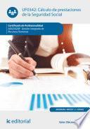 libro Cálculo De Prestaciones De La Seguridad Social. Adgd0208