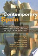 libro Contemporary Spain