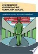 libro Creación De Empresas De Economía Social