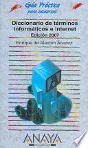 libro Diccionario De Términos Informáticos E Internet