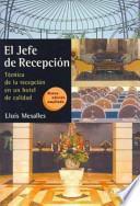 libro El Jefe De Recepción