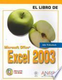El Libro De Excel 2003