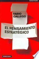 libro El Pensamiento Estratégico