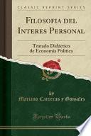 libro Filosofia Del Interes Personal
