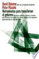 libro Herramientas Para Transformar El Gobierno