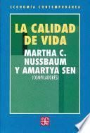 libro La Calidad De Vida
