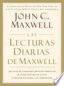 libro Las Lecturas Diarias De Maxwell