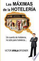 libro Las Máximas De Las Hotelería