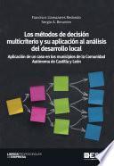 libro Los Métodos De Decisión Multicriterio Y Su Aplicación Al Análisis Del Desarrollo Locall