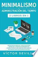 libro Minimalismo Y Administración Del Tiempo 2 Libros En 1