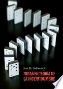 libro Notas En Teoría De La Incertidumbre