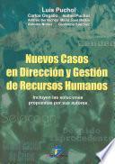libro Nuevos Casos En Dirección Y Gestión De Recursos Humanos