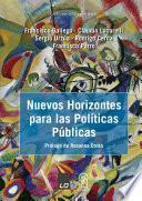 libro Nuevos Horizontes Para Las Políticas Públicas