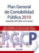 libro Plan General De Contabilidad Pública 2010