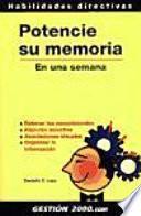 libro Potencie Su Memoria