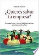 libro Quieres Salvar Tu Empresa