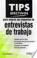 libro Tips Efectivos Para Mejorar Sus Respuestas En Entrevistas De Trabajo / Brilliant Answers To Tough Interview Questions