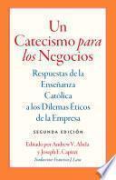 libro Un Catecismo Para Los Negocios