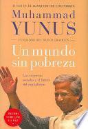 libro Un Mundo Sin Pobreza