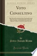libro Voto Consultivo