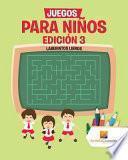 libro Juegos Para Niños Edición 3