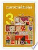 libro Matemáticas. 3 Primaria. Nuevo Proyecto Trotamundos