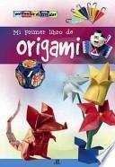 libro Mi Primer Libro De Origami / My First Origami Book