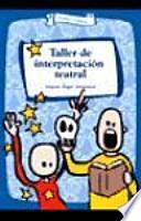 libro Taller De Interpretación Teatral