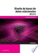 libro Uf2175   Diseño De Bases De Datos Relacionales