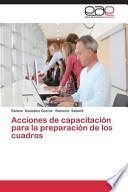 libro Acciones De Capacitación Para La Preparación De Los Cuadros